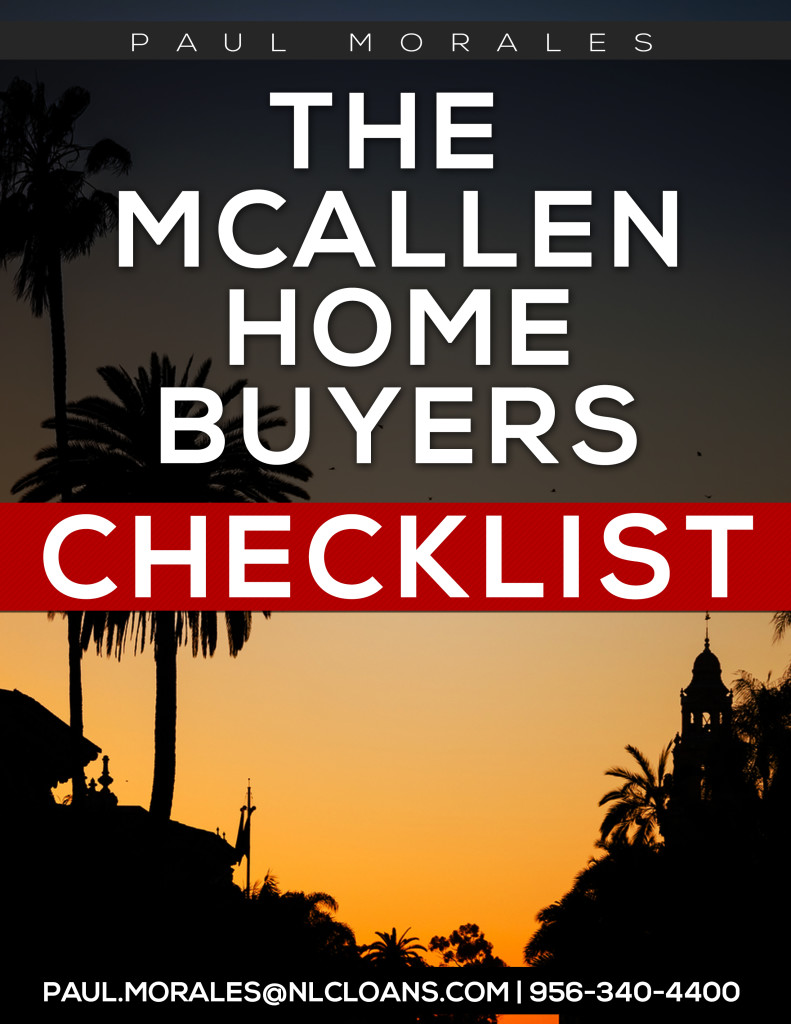 McAllen Home Buyers Checklist Cover